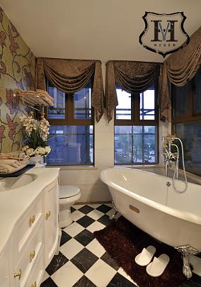 现代欧式风格卫生间设计效果图