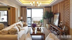 中式风格四室两厅装修效果图欣赏