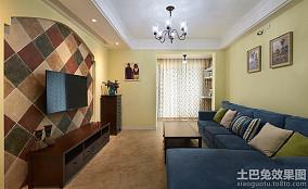 美式田园家居客厅装修图欣赏