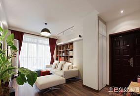 80平米田园风格一居室内装修图片大全