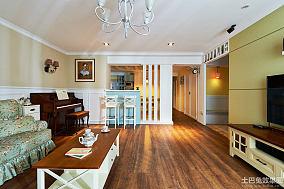 乡村田园风格三室两厅装修效果图大全