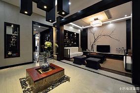 中式风格四居室装修图片欣赏大全