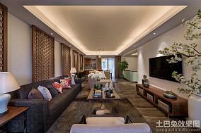 中式风格四室两厅设计效果图