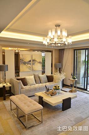 现代欧式风格三室两厅装修图片欣赏