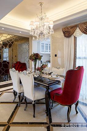 欧式风格一室一厅户型样板房装修