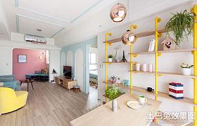 温馨田园风格装修小户型室内设计图片大全