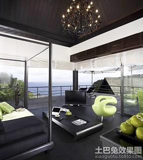 东南亚风格别墅豪华装修效果图欣赏