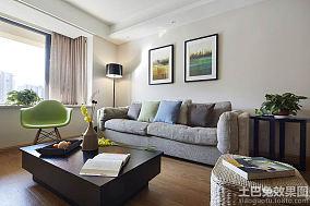 日式装修70平米一居室图片