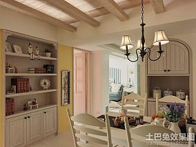 地中海风格一居室家庭装修效果图大全