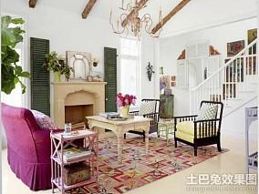 简欧风格客厅装修效果图片欣赏