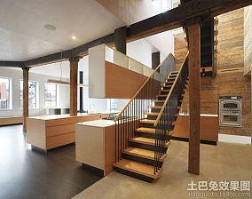 家用钢木楼梯装修