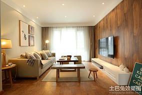 76平米田园风格一居家庭装修效果图大全