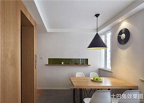 60平米简约一居室家装室内效果图片