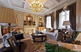 欧式家庭130平米四居室图片欣赏