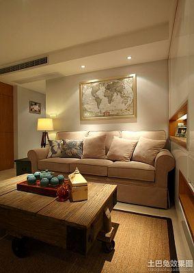 田园设计一室一厅装修设计效果图