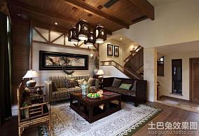 中式公寓风格设计图片欣赏大全