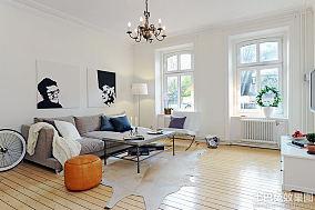 2015北欧风格室内设计一居室装修图