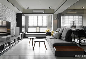 76平米简约风格一居室住房装修图欣赏