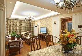 美式风格120平米公寓设计效果图大全