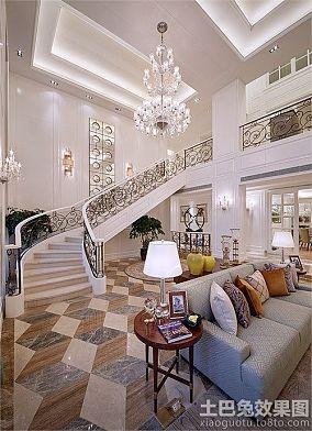 美式家装豪华别墅图片大全
