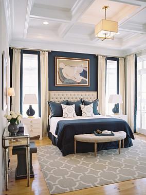 北欧风格时尚主卧室图片