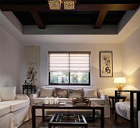 87平方中式两室一厅家居装修图片大全