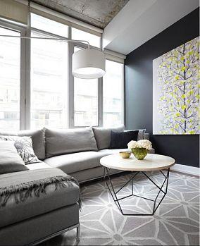 北欧风格客厅100平米三室两厅装修效果图