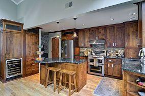 复古风格厨房效果图大全