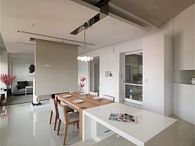 简约风格公寓式住宅效果图