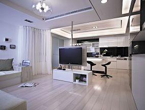 现代装修风格四室两厅设计图大全欣赏