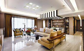 现代美式风格四室两厅设计图片大全