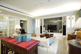 美式装修风格四居室效果图大全欣赏