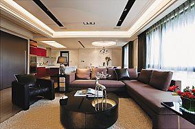 现代风格四居室装修图欣赏大全
