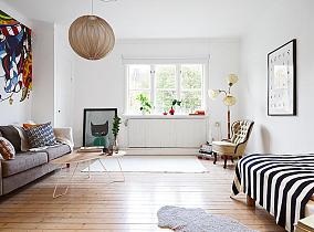 精选70平米北欧公寓效果图片欣赏