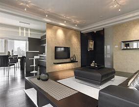 现代风格四室两厅装修设计效果图大全