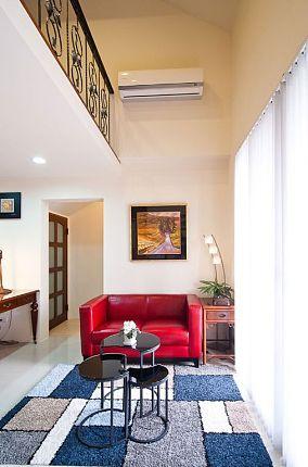 2015现代风格复式家居装修图片