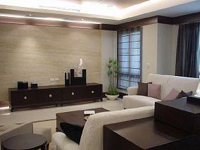 现代风格三室两厅设计效果图欣赏