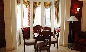 精选面积119平欧式四居装修设计效果图片大全