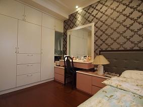 热门面积106平中式三居装修图片大全