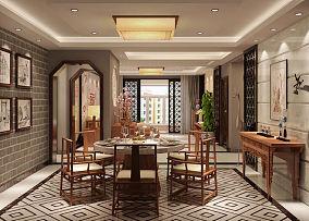 109平米三居中式装修图片欣赏