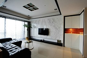 现代120平米四居室大全