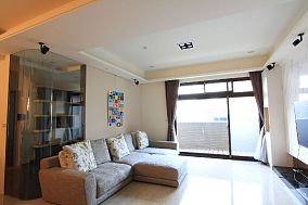 现代装修三室两厅欣赏