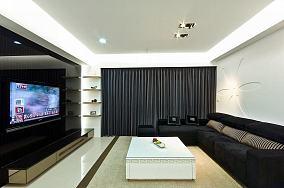 简约现代120平米四居室欣赏大全