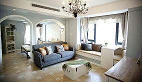 100平浪漫混搭两居室装修案例
