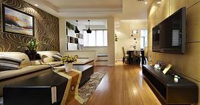 现代都市两居室装修案例