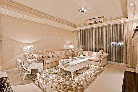 简欧经典风格客厅装饰效果图片