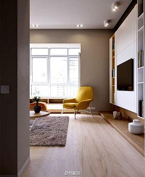 面积74平公寓现代装修实景图片欣赏