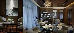 2018精选98平方三居客厅现代装修实景图