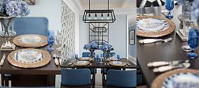 精美地中海三居装修设计效果图片欣赏