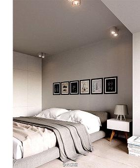 面积87平公寓现代装饰图